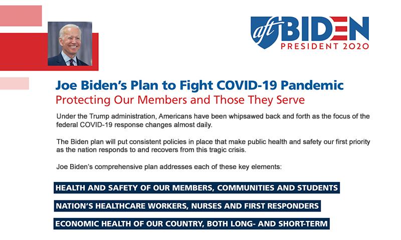 Joe Biden's plan to fight the pandemic